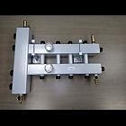 Коллектор на 5 выходов с встроенной гидрострелкой до 140 кВт