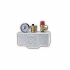 "Группа безопасности котла 1"" до 50 кВт KSG 30 ISO2 (1/2""х3/4"", 3 бар, сталь, с т"