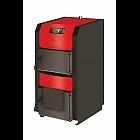 Твердотопливный котел с автоматикой и вентилятором Power BW80 мощность 80 кВт