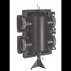 Гидравлическая стрелка Meibes HZW 80/6 280 кВт 12 м3/ч, Ду 80 мм,PN6,АА 225 мм